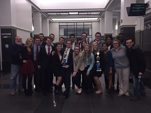 Miami Mock Trial A & B teams