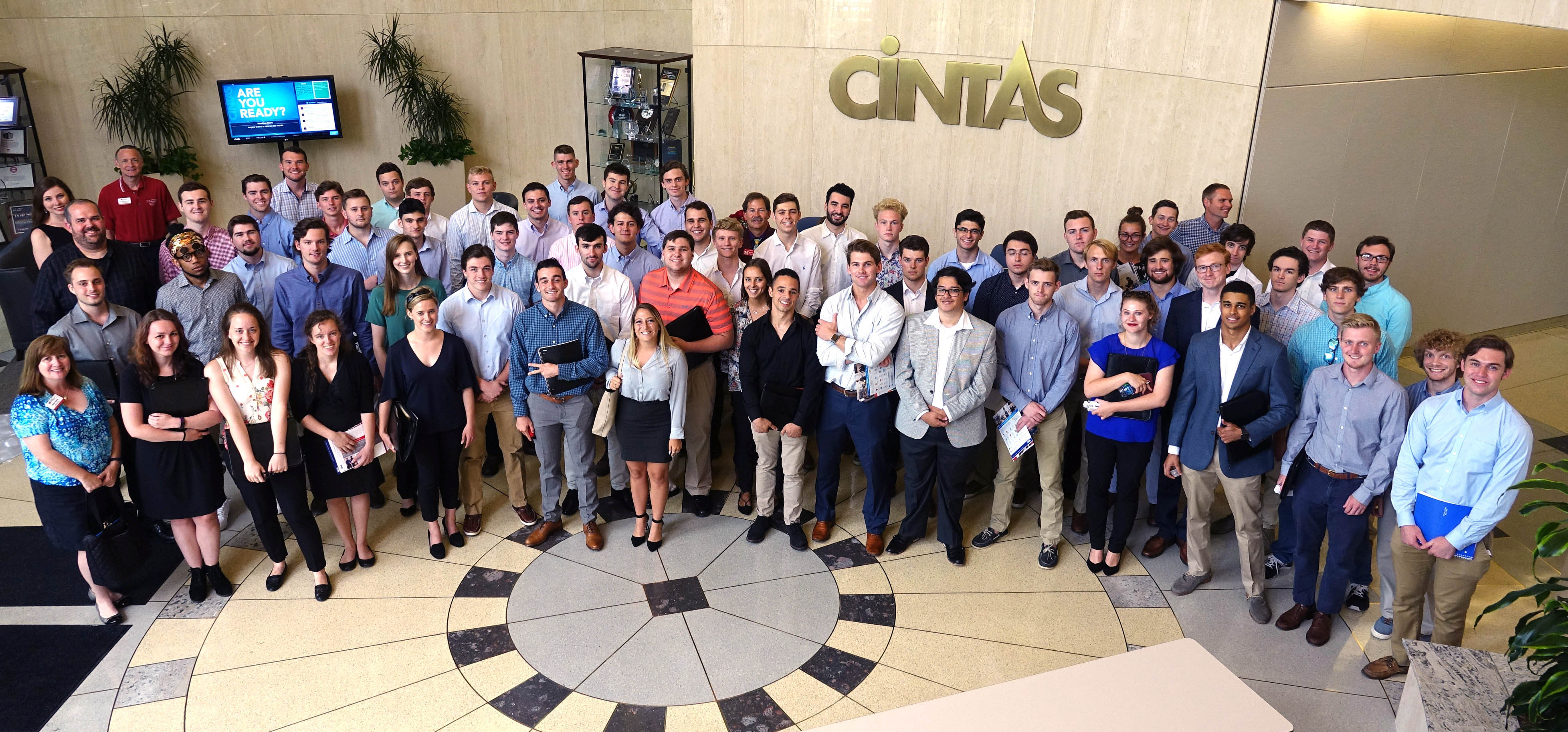 Miami PRIME students visit Cintas headquarters