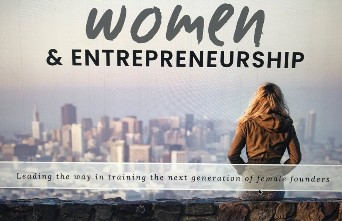 Women in entrepreneurship graphic