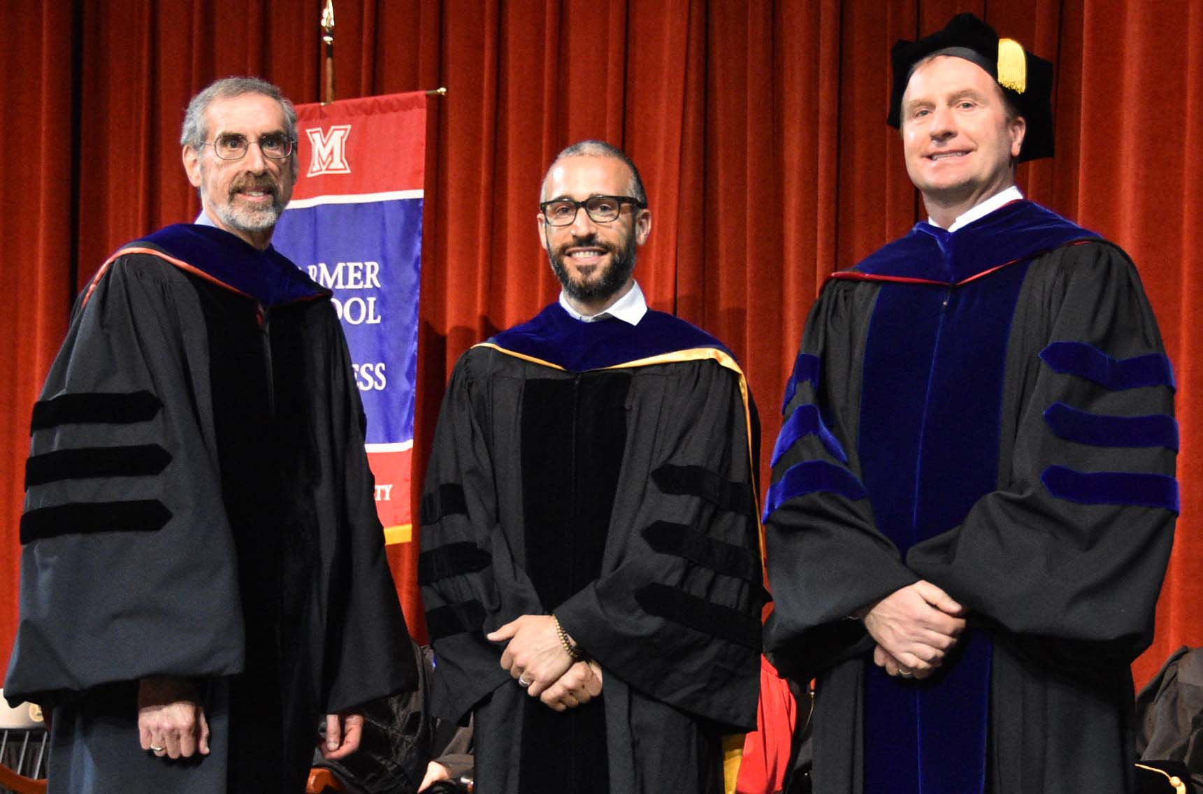 Dean Marc Rubin, Dr. Scott Dust, Dr. Joe Rode