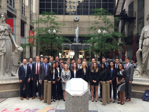 Students at Chicago Finance Week