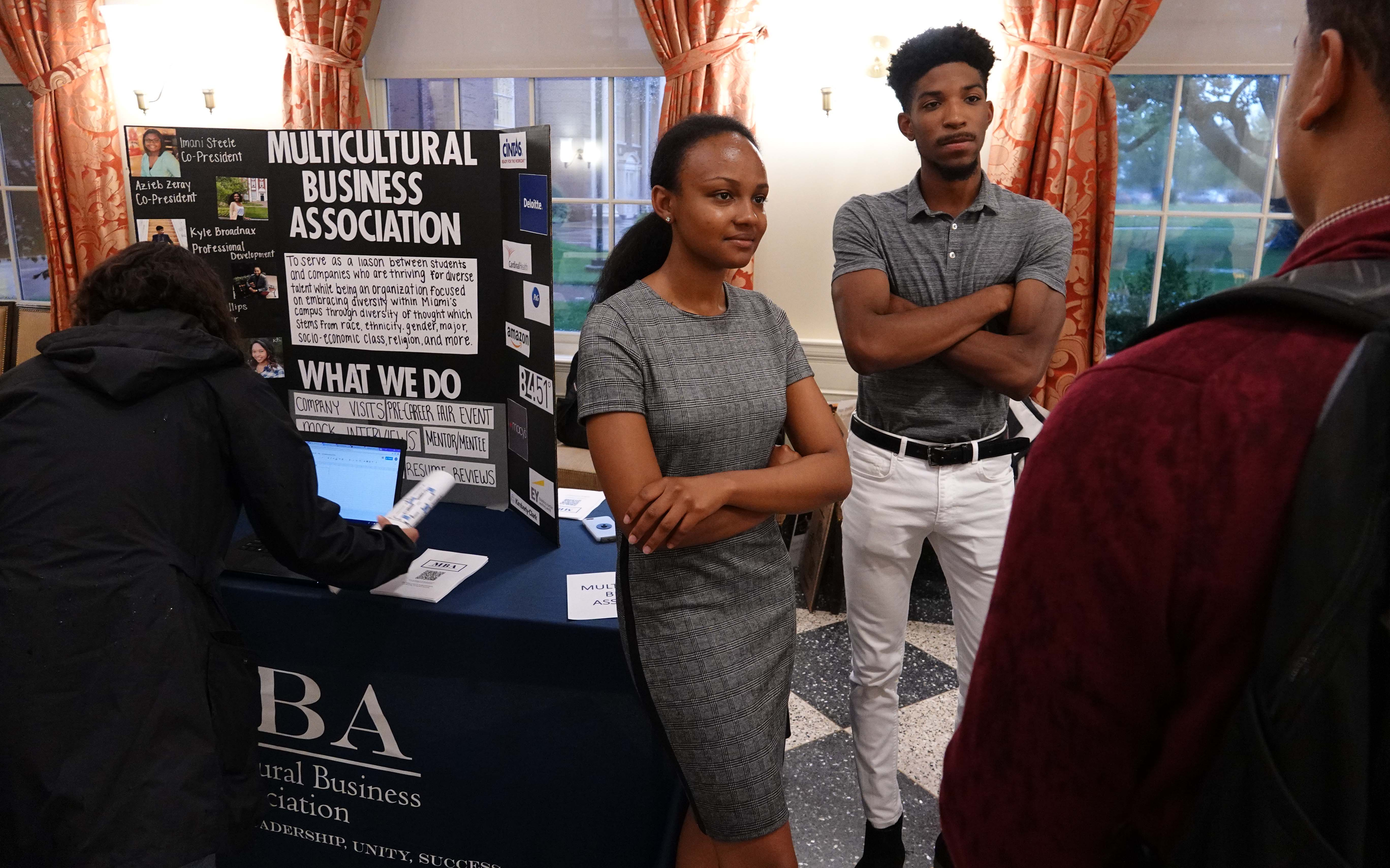Meet the B-Orgs photo of Multicultural Business Organization table