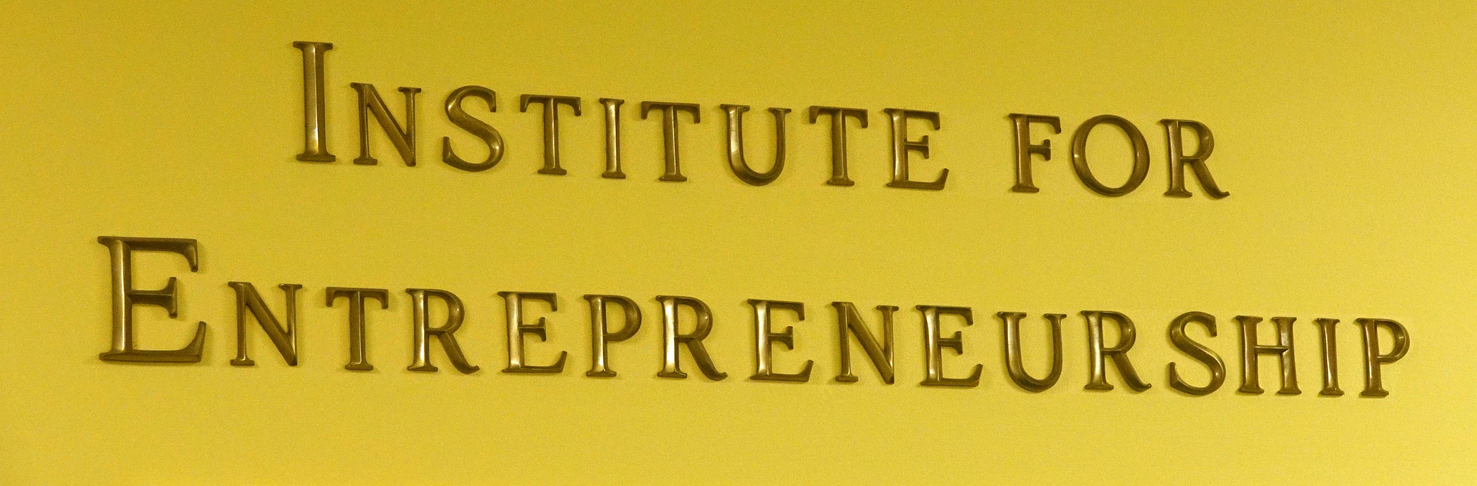 Institute for Entrepreneurship logo